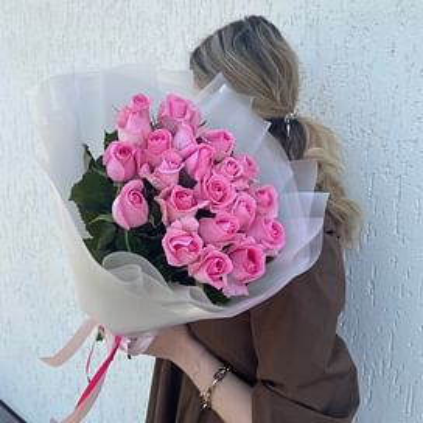"""Букет роз """"Энн"""" 21 роза"""