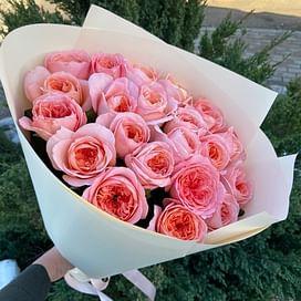 """Букет роз """"Люси"""" 21 роза"""