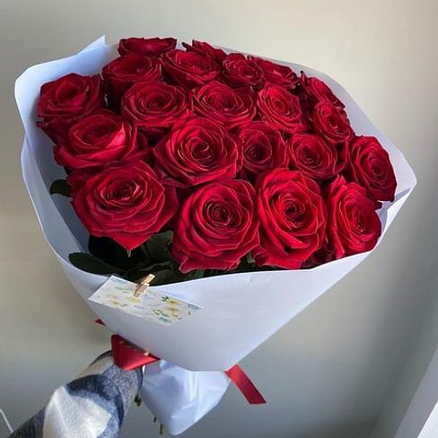 """Букет роз """"Эшли"""" 21 роза"""