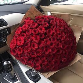 """Букет роз """"Невероятный"""" 101 роза"""