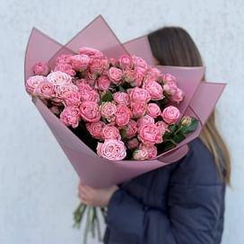 """Букет роз """"Полли"""" 15 роз"""