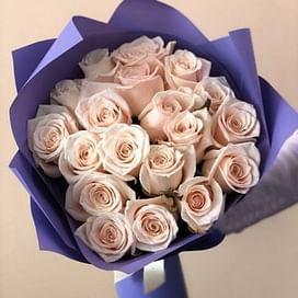 """Букет роз """"Пышный бал"""" 21 роза"""