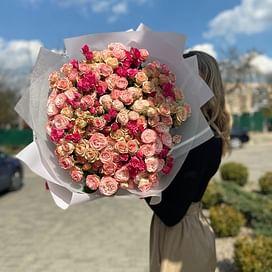 """Букет роз """"Лана"""" 35 роз"""