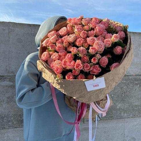 """Букет роз """"Тиффани"""" 25 роз"""