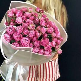"""Букет роз """"Язык чувств"""" 35 роз"""
