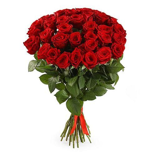 Букет роз Ред Наоми 35 роз