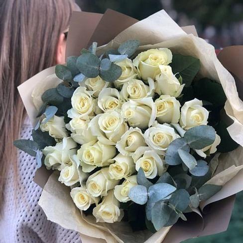 """Букет роз """"Анна"""" 25 роз"""