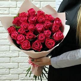 """Букет роз """"Фиеста"""" 25 роз"""