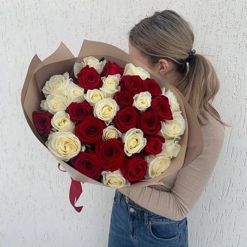 """Букет роз """"Вечно прекрасный"""" 35 роз"""