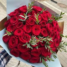 """Букет роз """"Расцвет красоты"""" 51 роза"""