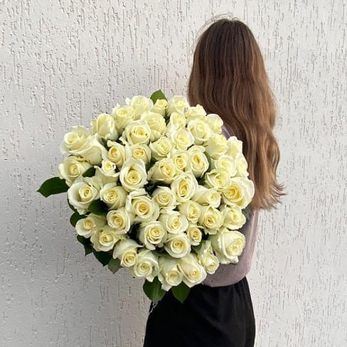 "Букет роз ""Сама нежность"" 51 роза"