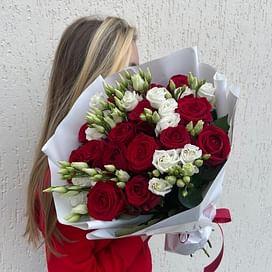 "Букет ""Рафаэлка"" 15 роз"