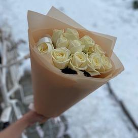 """Букет роз """"Кружево"""" 11 роз"""