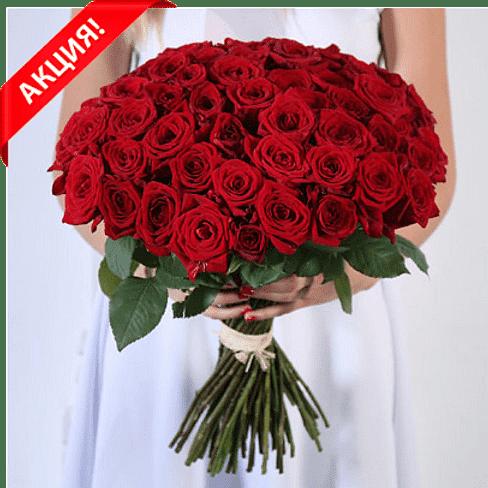 """Букет роз """"Восторг"""" 51 роза"""