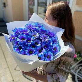 """Букет """"Цвет настроения Синий"""""""