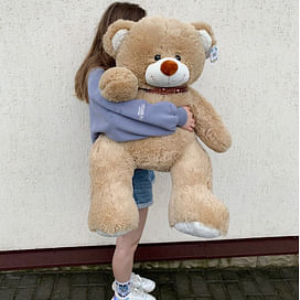 Плюшевый медведь Феликс 100см (сидя 60см)