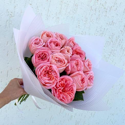 """Букет роз """"Летний бриз"""" 15 роз"""