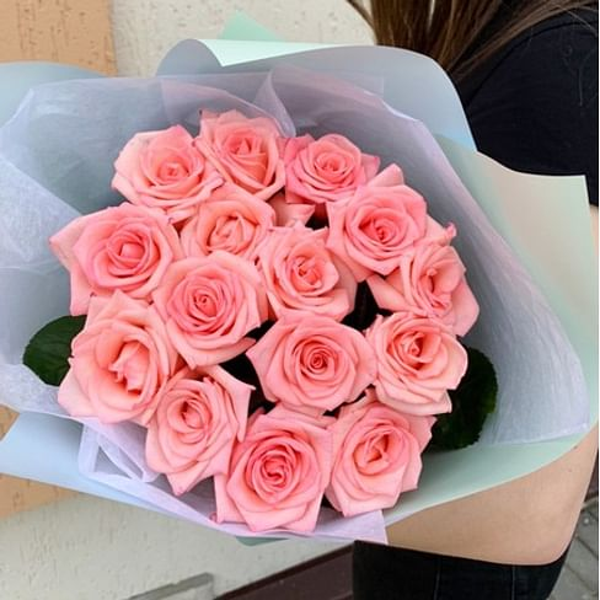 "Букет роз ""Бэлла"" 15 роз"
