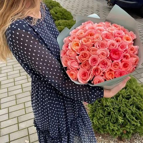 """Букет роз """"Душа"""" 51 роза"""