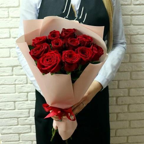 """Букет роз """"Зорка"""" 11 роз"""