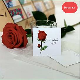 """Открытка """"Роза"""""""