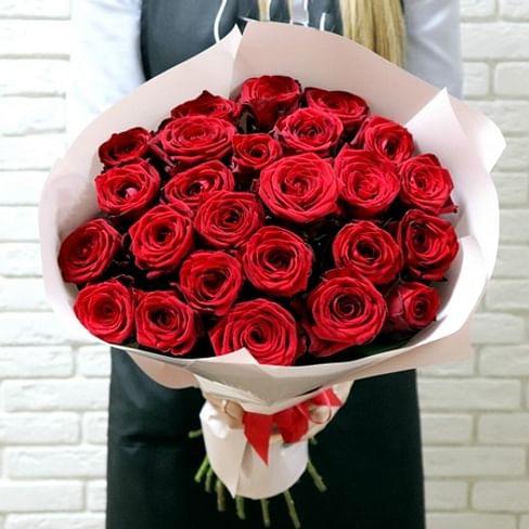 """Букет роз """"Жду встречи"""" 25 роз"""