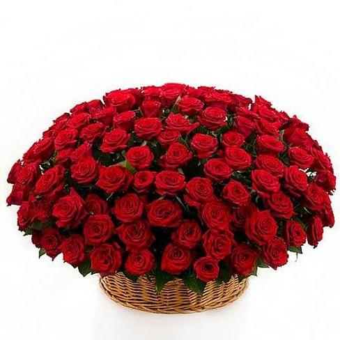 """Корзина роз """"Любовь"""""""