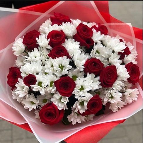 """Букет """"Магия любви"""" 15 роз"""