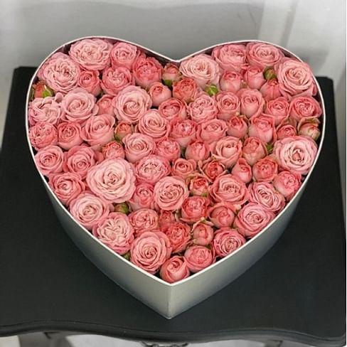 """Коробка с цветами """"Элегантная"""""""