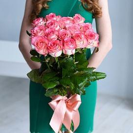 """Букет роз """"Джин"""" 21 роза"""