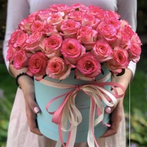 """Коробка роз """"Вау"""""""