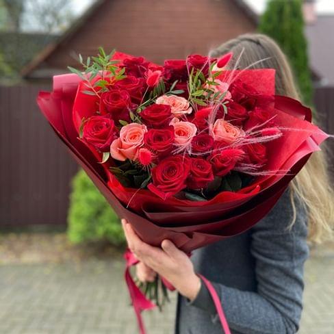 """Букет """"Клевый"""" 25 роз"""