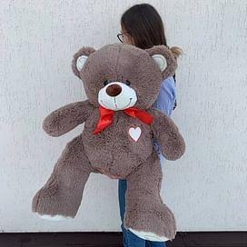 """Медведь """"Гриня коричневый"""" длина 100см (сидя 60см)"""