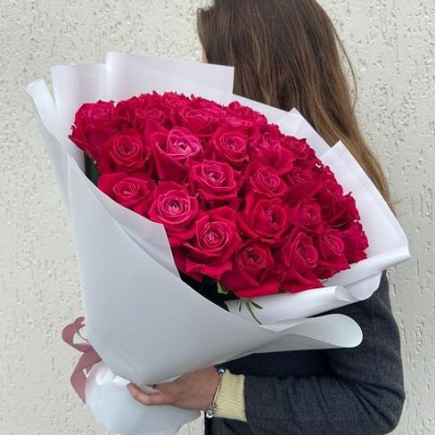"""Букет роз """" Варенье"""" 35 роз"""