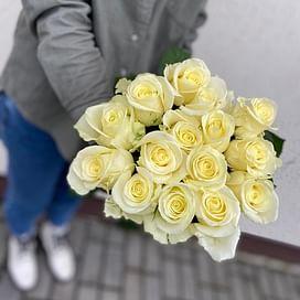 """Букет роз """" Балет"""" 15 роз"""