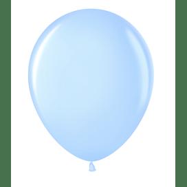"""Латексный шар с гелием """"Голубой"""" (12''/30 см)"""