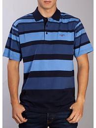 Поло в цветную полоску Lee Cooper GOLIAT 2384 BLUE
