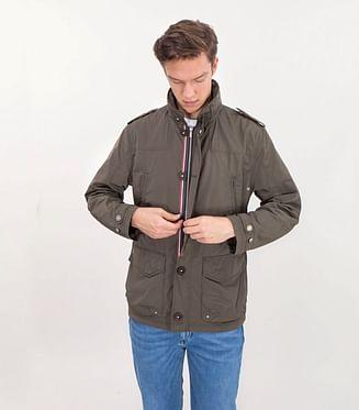 Куртка со скрытым капюшоном Lee Cooper KEN 8052 KHAKI