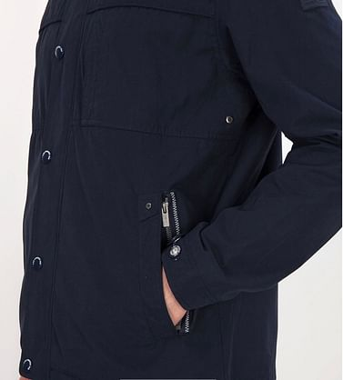 Куртка двухсторонняя со съемным капюшоном Lee Cooper PABLO 8046 NAVY