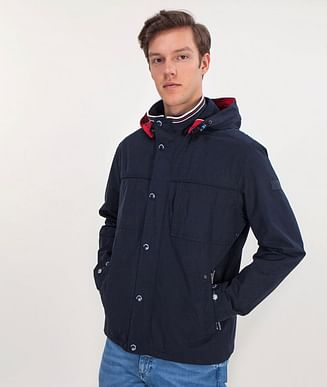 Куртка со съемным капюшоном Lee Cooper PABLO 8046 NAVY