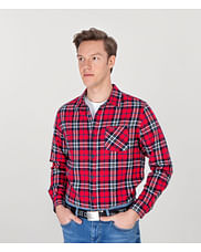 Рубашка Regular в клетку Lee Cooper MICK 2815 RED
