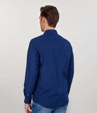 Рубашка Regular с длинным рукавом Lee Cooper MEFF 2058 NAVY