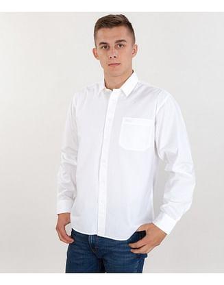 Рубашка Regular с длинным рукавом Lee Cooper NEWBURG 00 WHITE
