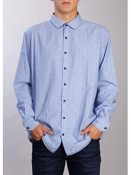 Рубашка Comfort с длинными рукавами Lee Cooper ROLD-5000-BLUE