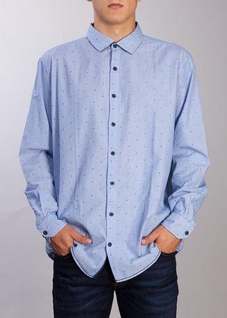 Рубашка Comfort с длинным рукавом Lee Cooper ROLD 5000 BLUE