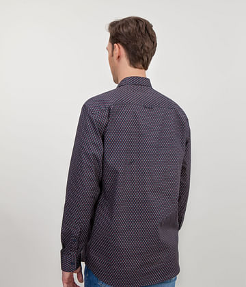 Рубашка Comfort с длинными рукавами Lee Cooper TEFF 0836 NAVY