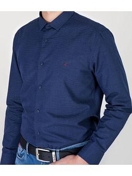Рубашка Regular с длинными рукавами Lee Cooper TIMMY 7593 BLUE