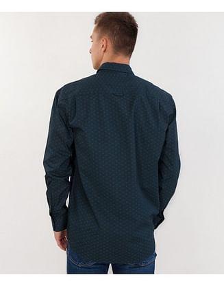 Рубашка Comfort с длинным рукавом Lee Cooper TORRE 3083 GREEN