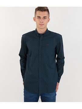 Рубашка Comfort с длинными рукавами Lee Cooper TORRE 3083 GREEN