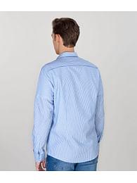 Рубашка Slim с длинными рукавами Lee Cooper MARK 2200 BLUE
